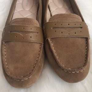 5a55a24737d Lands  End Shoes - Lands End Everyday Comfort suede penny loafers